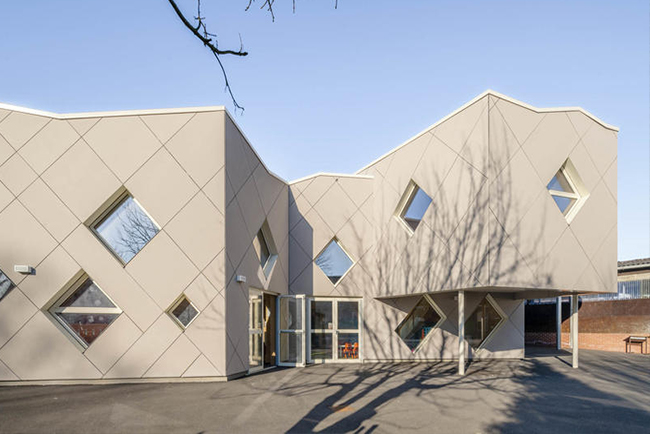 Groupe Scolaire Atlande Architecte""